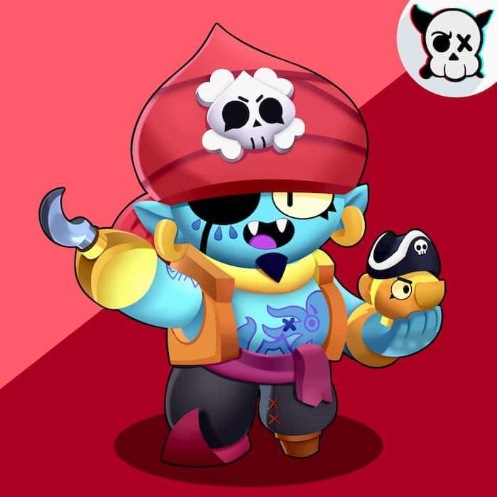 Джин скин пират