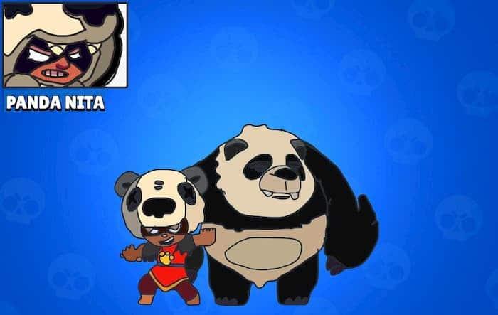 Нита скин Панда