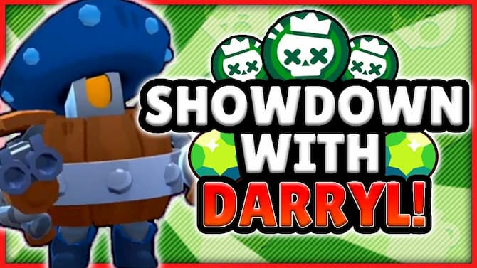 Рисунок Showdown with Darryl Brawl Stars