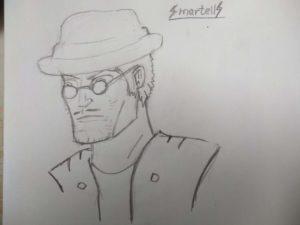 Как нарисовать Брока Бравл Старс 2