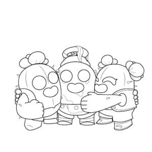 Кактусовая семья Спайка