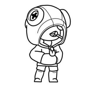 Раскраска Браво Старс Леон Салли: как нарисовать и ...